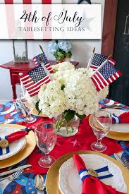 4th Of July Decoration Ideas 4th Of July Centerpiece Ideas And Tablescape Inspiration Frog