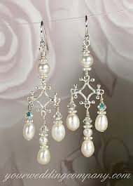 and pearl chandelier pearl chandelier earrings