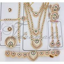 10 pcs leaf design set indian wedding ornaments