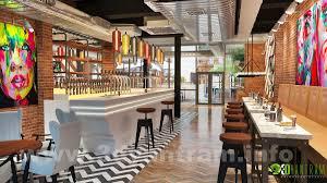 3d restaurant bar interior design studio rio de janeiro 3d