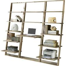sawyer grey leaning shelves
