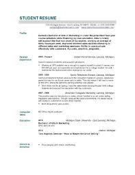 exles of resumes for students resume template for recent college graduate geminifm tk