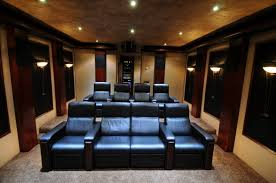 Fabulous Luxurious Home Theater Design With Superior Comfortable Home Theatre Design