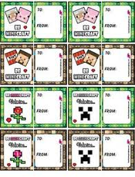 minecraft valentines cards 15 easy diy ideas free printable cards and diy