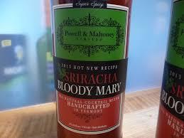 organic bloody mix sriracha bloody mixer from powell and mahoney hotsaucedaily