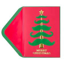 christmas tree prices mustache christmas tree christmas greeting cards papyrus
