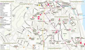 New Delhi India Map by Delhi Map New Delhi Detailed Visitor U0027s Virtual Map Showing Metro