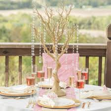 Tree Centerpieces Gold Manzanita Wishing Tree Centerpiece Gone Smarty Had A Party