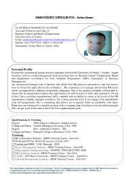 Skills In Hrm Resume Burhan Hr Cv 2 11