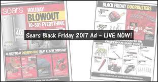 sears black friday ad 2017 48 page sears black friday 2017 ad