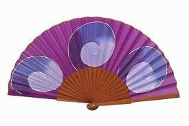 silk fans painted silk fan ma12