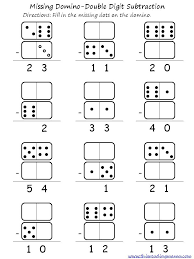 double digit domino addition and subtraction addition and