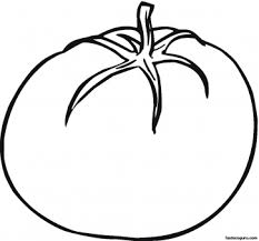 printable vegetables tomato coloring page printable coloring