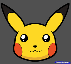 how to draw pikachu easy step by step pokemon characters anime