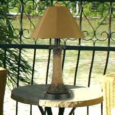 outdoor patio table lights outdoor table ls for patio outside popular lighting ideas with