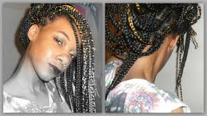 Transitioning Protective Styles - box braids