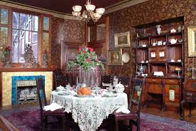 victorian style dining room brings classical moment into your