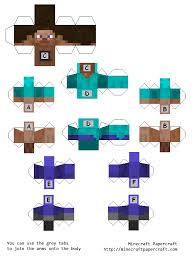 pixel papercraft steve images reverse search