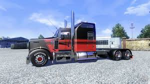 trucking companies with kenworth w900 w900l for euro truck simulator 2