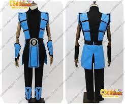 Scorpion Halloween Costume Mortal Kombat 3 Scorpion Cosplay Costume Color Blue Csddlink Cosplay