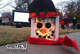 Outdoor Lighted Snowman Southern Outdoor Cinema Blog Archive Diy Cinema Element