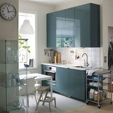 cuisine equipe ikea a small modern kitchen with white walls and high gloss gray