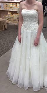 show me your david u0027s bridal wedding dresses weddingbee