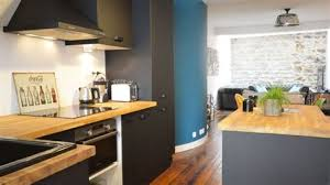 cuisine de loft cuisine style loft industriel 4 nuances de bleu amp style