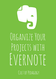 Organzie by Organize Your Projects With Evernote Cult Of Pedagogy