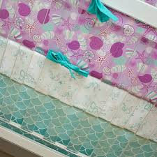 Boho Crib Bedding by Mermaid Crib Bedding Love The Purple Mint Teal And Turquoise