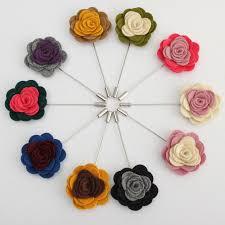 Lapel Flowers Buy 1x Men U0027s Lapel Flower Rose Mixed Color Handmade Boutonniere