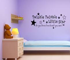 twinkle twinkle little star nursery wall sticker quote girl boy twinkle twinkle little star nursery wall sticker quote girl boy baby room