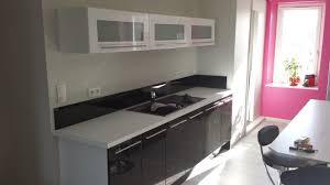 mur de cuisine cuisine sur 1 mur chaios com