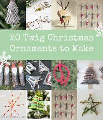 20 twig ornaments to make ornament ornament