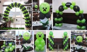 minecraft party decorations minecraft cebu balloons and party supplies
