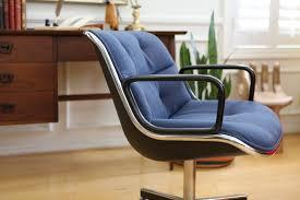 mid century modern knoll international desk chair office chair
