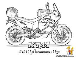 cool coloring motorcycles ktm 990 adventure http www