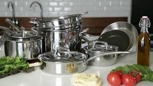 sur la table reviews new sur la table cookware tri ply stainless steel youtube wei