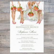 bridesmaid brunch invitations all the bridesmaid luncheon invitations celebration bliss
