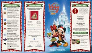 Disney World Magic Kingdom Map Mickey U0027s Very Merry Christmas Party Map 2016 Walt Disney World