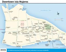 Map Of Playa Del Carmen Mexico by