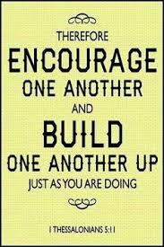 encourage build 1 thessalonians 5