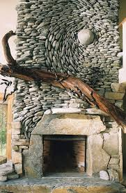 Stone Wall Mural Not Your Average Rock Wall Stunning Mosaic Murals Made Of Stones