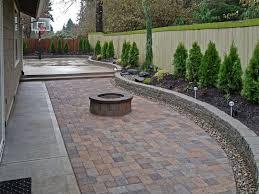 creative pavers or concrete patio design decor creative in pavers