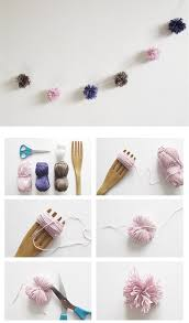 Homemade Pom Pom Decorations Diy Pom Pom Garland Pictures Photos And Images For Facebook