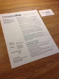 business card resume personal identity communication design fundamentals