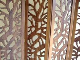 cnc router wood carving partition screen kerala india feather cam