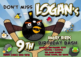 angry birds invite events angry birds party ideas pinterest