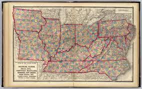 Iowa Illinois Map Illinois Indiana Iowa North Carolina Tennessee Virginia