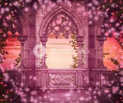 castle backdrop princess castle backdrop royalty free stock image